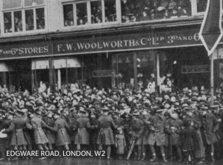 The F. W. Woolworth & Co. Ltd. 3D and 6D Store near Marble Arch, London in Edgware Road, W2