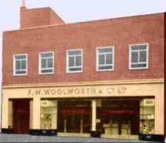 Portslade, West Sussex, the thousandth British Woolworth store, which opened on 22 May 1958