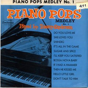 Piano Pops - 11 instrumentals on a single 7 inch EP - all for 6/11 (approximately 35p) in Woolworths in the mid 1960s.