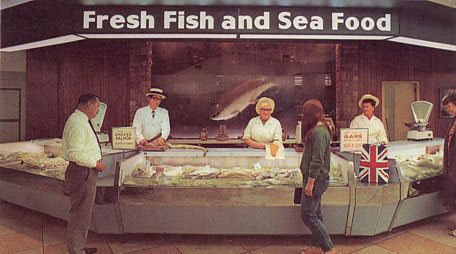 A not so super market for Fresh fish store