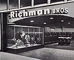 Richman Brothers fashion stores were acquired by F. W. Woolworth Co. in 1969 as part of a diversificaton plan.