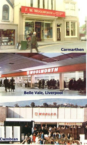 The changing face of Woolworth UK during the 1970s