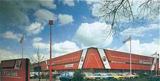 A B&Q DIY Supercentre in the 1980s.