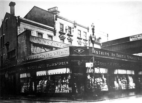Brixton Road, Brixton - the first Woolworth store in the London area