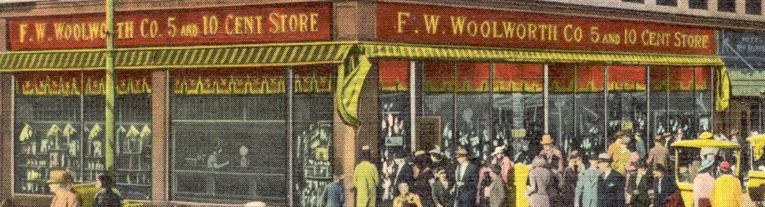 F. W. Woolworth in the Boardwalk at Atlantic City, New Jersey (Image with thanks to Mr Scott Oakford)