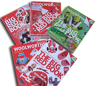 The Big Red Book - an extended range catalogue, and a major web presence, were part of the new CEO's formula for updating the British Woolworths