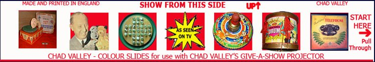 Chad Valley, the World War II and the advent of television