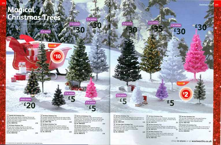 As the Woolworths store chain prepard for its hundredth Christmas the proportion of WorthIt! value lines in the Big Red Book catalogue had grown dramatically. The Winter 2008/9 edition was always intended to be the last of the line, little did the firm's 27,000 staff know that it wasn't just the catalogue that would soon be disappearing.  Click for a full resolution version in a new browser window.