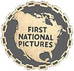 The logo of First National Pictures, one of the pioneering companies in talking movies, operating initially outside the studio system