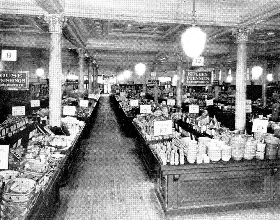 The first dimestores picture gallery