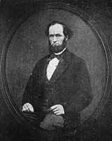John Hubnall Woolworth - a farmer and freeholder who was the father of F. W. Woolworth, the founder of the Five and Ten Cent Store chain