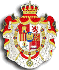 The flag of Joseph Bonaparte as Puppet King of Spain (Wikipedia Creative Commons Licence)