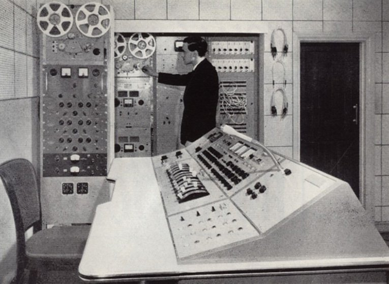 The Control Console Mixer - state-of-the-art recording at Embassy Records in the 1950s