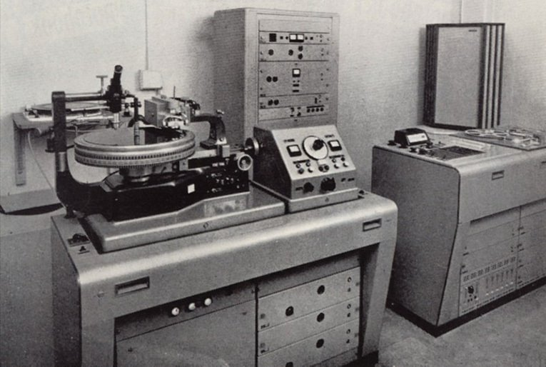 lathe cut record machine