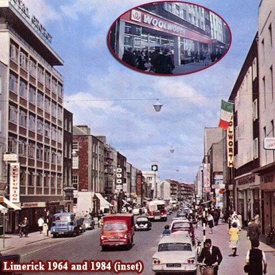 Woolworth's in O'Connell Street gave 64 years service to Limerick in the Irish Republic