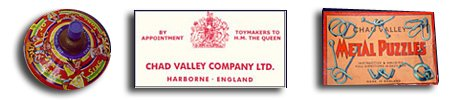 Chad Valley toys and their Royal Warrant from H.M. Queen Elizabeth (wife of King George VI) in 1937