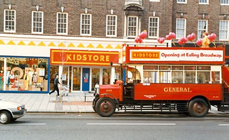 The short-lived but highly innovative Kidstore format from the 1980s (Picture with special thanks to Bob Waldron)