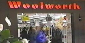 Woolworth in the Lancaster Mall in Pennsylvania, just a few miles from where the company first started, picture in the early 1990s