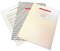You can always tell that a company is making cutbacks when it has a full range of pre-printed documents to help staff who are being forced to leave. By 1984 Woolworth executives had plenty of experience of 'termination'