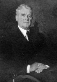 A portrait of William Stephenson, a founder member of the British Woolworths, who led the firm to great success as MD from 1923 to 1931 and then Chairman from 1931 to his retirement in 1948