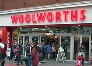 The large Woolworths store in Regent Street, Swindon, which served the town from 1913 until 2008