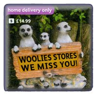Three Meerkats who are missing Woolworths in the High Street