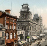 Church Street was one of Liverpool's most fashionable shopping streets. The planned Woolworth location faced the City's Pro-Cathedral and was just a short walk from the docks and the overhead railway station