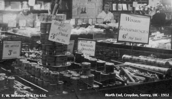 Make do and mend at Woolworth's