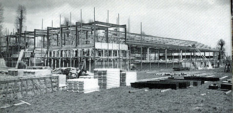 Building the Ladybird factory in Langley on the border of Berkshire and Buckinghamshire in the English home counties