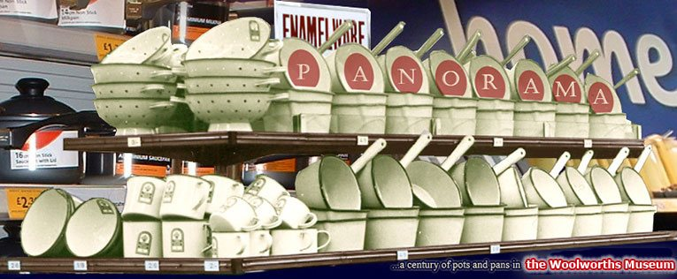 Panorama - a century of pots and pans from the shelves of