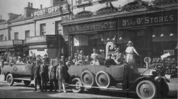 Carnival 1920 Carnival in The 1920s