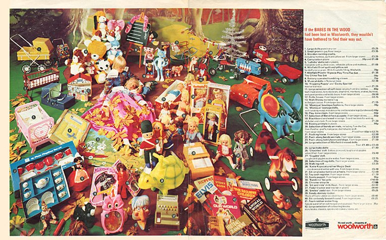 Toys From 1970s And 1980s by The Late 1970s Toys Had