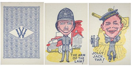 Snap Cards were a popular favourite for long nights in the air raid shelter